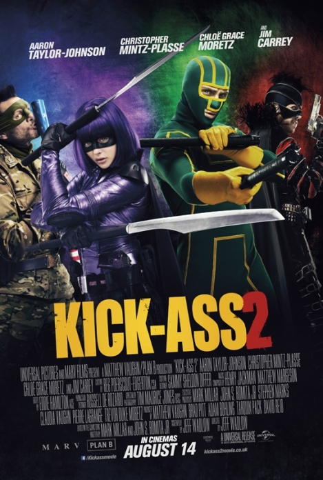 Kick-Ass 2 International Poster